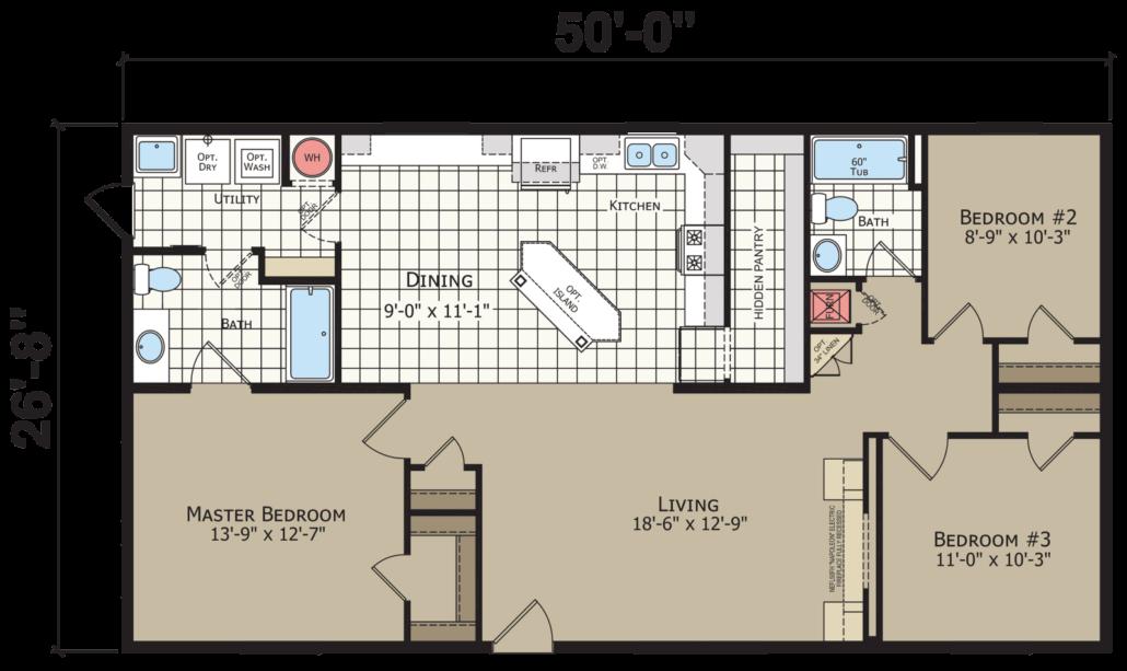 Champion Homes Essentials A25002 Cozy